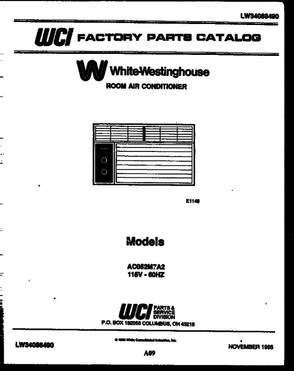 White-Westinghouse AC052M7A2