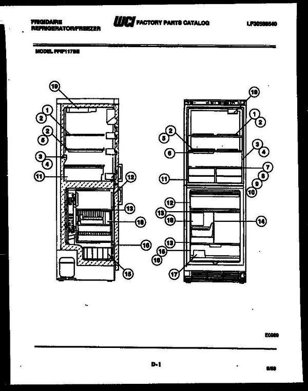 Frigidaire FPIF117BE