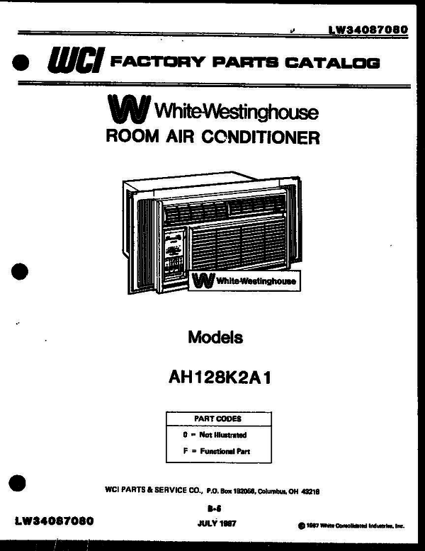 White-Westinghouse GF970HXD2