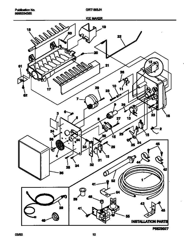 gibson grt18isjhw1  v2  refrigerator parts and accessories