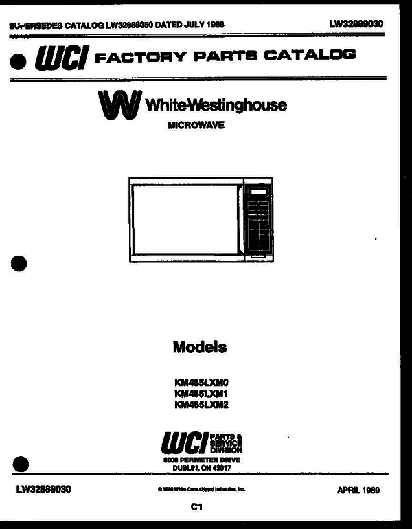 White-Westinghouse KM485LXMD1