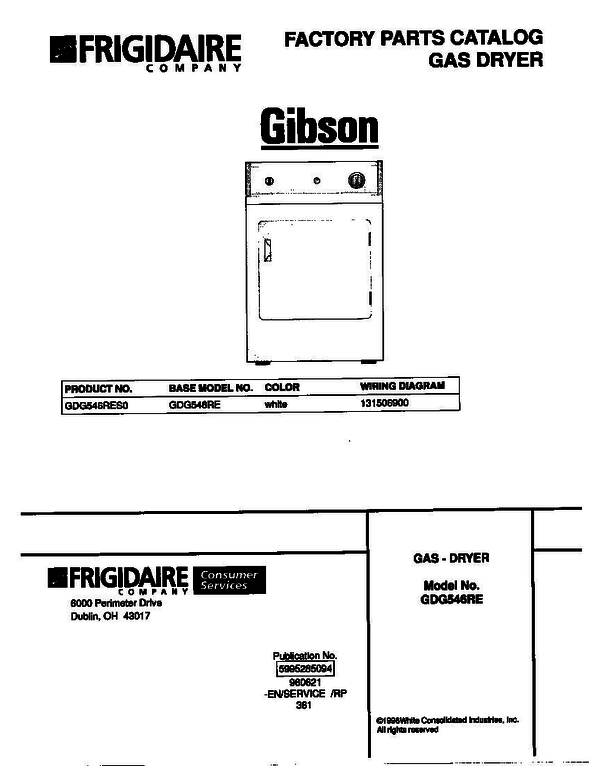 Gibson GDG546RES0