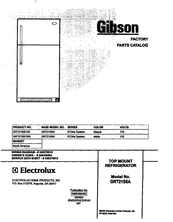 Gibson GRT21S6CW0