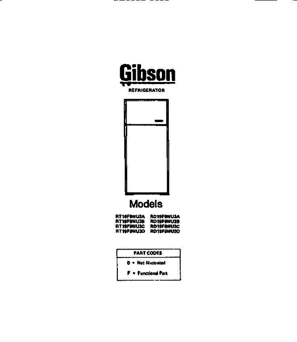 Gibson RD19F9WU3D