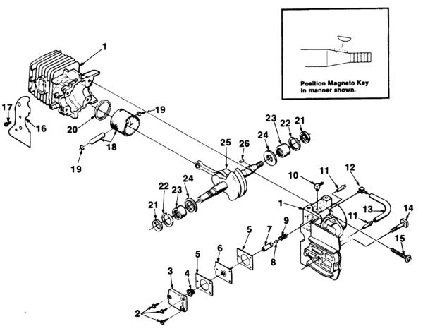 Briggs Stratton Engine Diagram Chainsaw