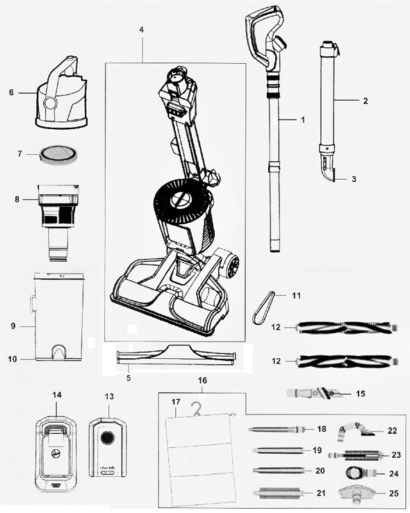 nutone central, dirt devil upright, electrolux epic 6500, kenmore progressive, electrolux el4300b, online electrolux, kenmore intuition, dyson dc18, on rainbow vacuum parts diagram