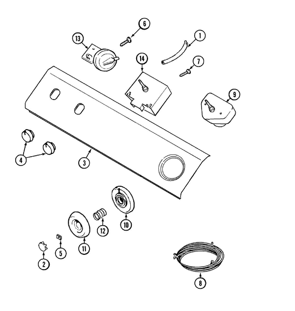Maytag Lat8206aae Washer Parts And Accessories At