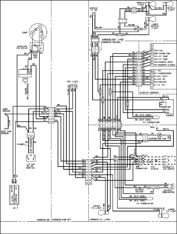 elevator door parts diagram side