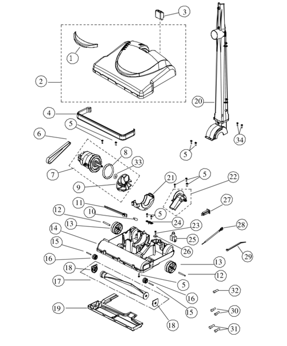 rsl1a-1 Rainbow Vacuum Parts Diagram on nutone central, dirt devil upright, electrolux epic 6500, kenmore progressive, electrolux el4300b, online electrolux, kenmore intuition, dyson dc18,