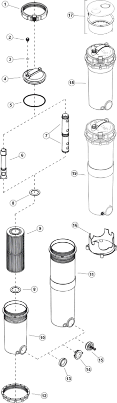 Waterway Top Load Filters
