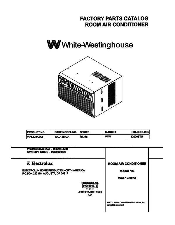 White-Westinghouse WAL128K2A1