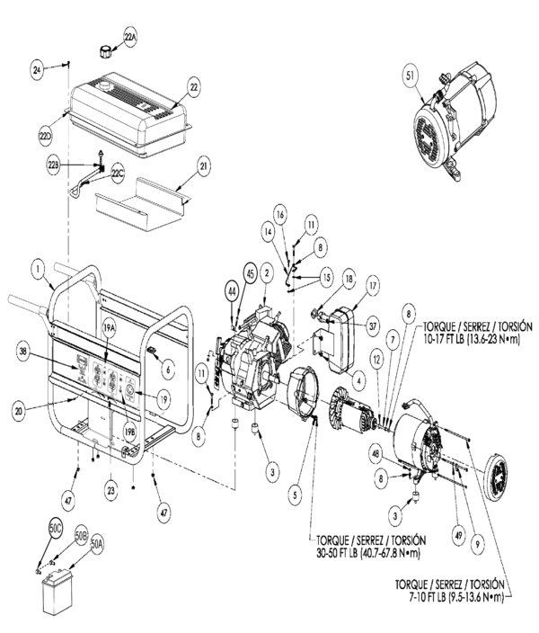 Black Max Generator Wiring Diagram on honda ex1000 generator wiring diagram