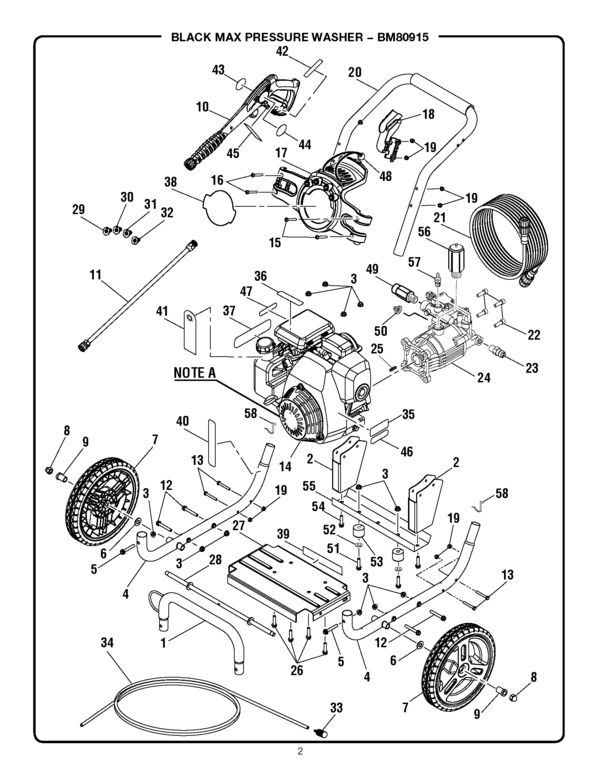 Blackmax Bm80915: Honda Pressure Washer Motor Diagram At Scrins.org