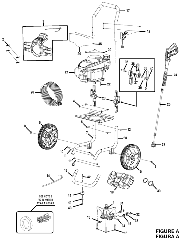 Blackmax Bm80919e: Honda Pressure Washer Motor Diagram At Scrins.org