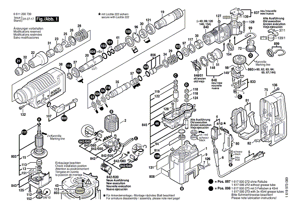 Bosch Hammer Drill 11230EVS (115V) (0611230739) | Partswarehouse on electric drill wiring diagram, cordless drill wiring diagram, bosch hammer drill controls, bosch hammer drill repair manual, bosch hammer drill accessories, drill press wiring diagram, makita drill wiring diagram, bosch hammer drill dimensions, bosch hammer drill maintenance,