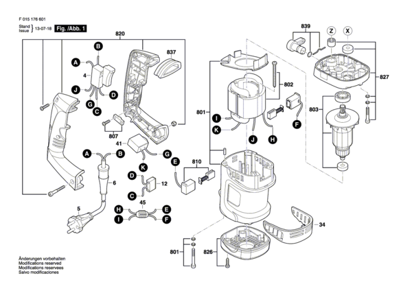 Skil 1766 Rotary Hammer Parts And Accessories