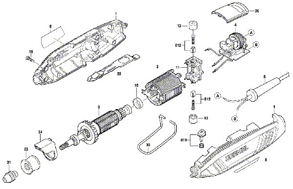 Dremel Parts Diagram | Wiring Diagram on