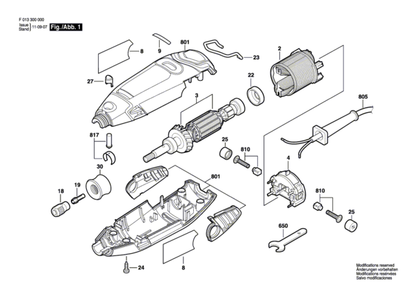 dremel 300 parts diagram