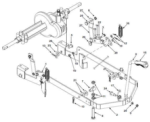 35 Cub Cadet 1042 Parts Diagram