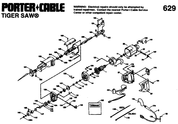 tiger saw wiring diagram porter cable tiger saw switch - image of tiger stateimage.co makita table saw wiring diagram