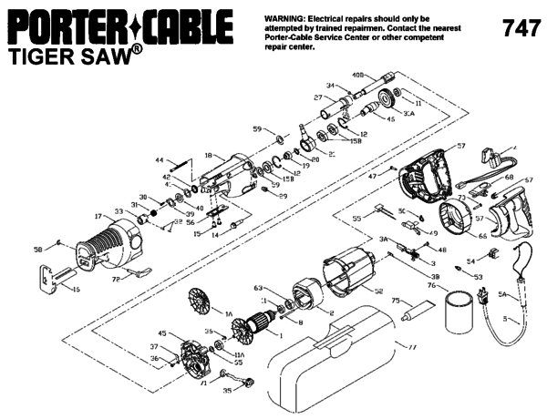 tiger saw wiring diagram