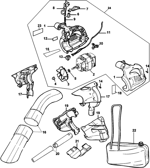 Vac Type 6 Parts And
