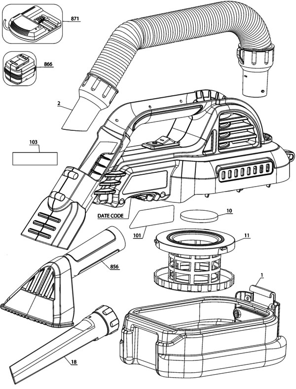 Dry Type 1 Parts And Accessories