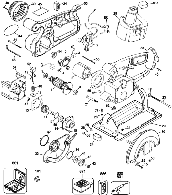 4 14 4v Trimmer Type 1 Parts And Accessories At