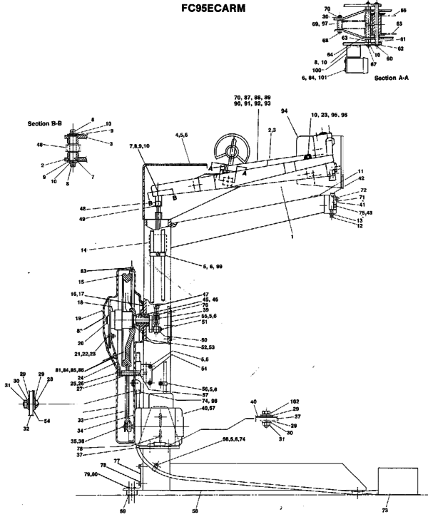 bostitch stapler diagram