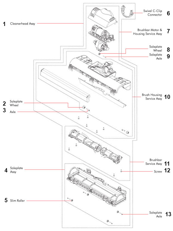 8318 together with 3775 further 325 moreover Electrolux Canister Vacuum Wiring Diagram further 2211201039 Integrated Fridge Freezer Door Hinge. on diagram of electrolux vacuum cleaner