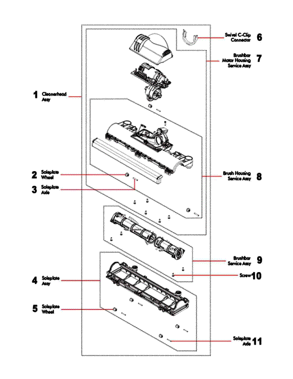 dyson motor wiring diagram wiring diagramdyson dc65 dc66 up13 complete, animal, \\u0026 multi floor partswarehousedyson motor wiring diagram