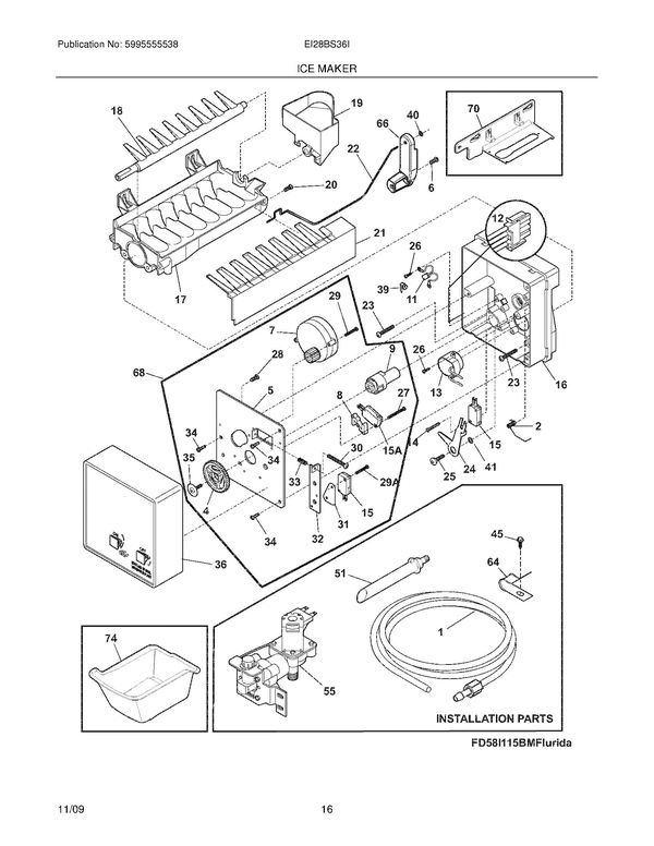 Wiring Diagram For Electrolux Refrigerator