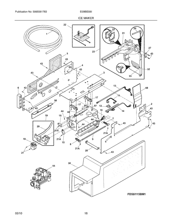 electrolux ei28bs56is3 refrigerator parts and accessories at Electrolux Refrigerator Parts Diagram at Electrolux Ei28bs56is3 Wiring Diagram