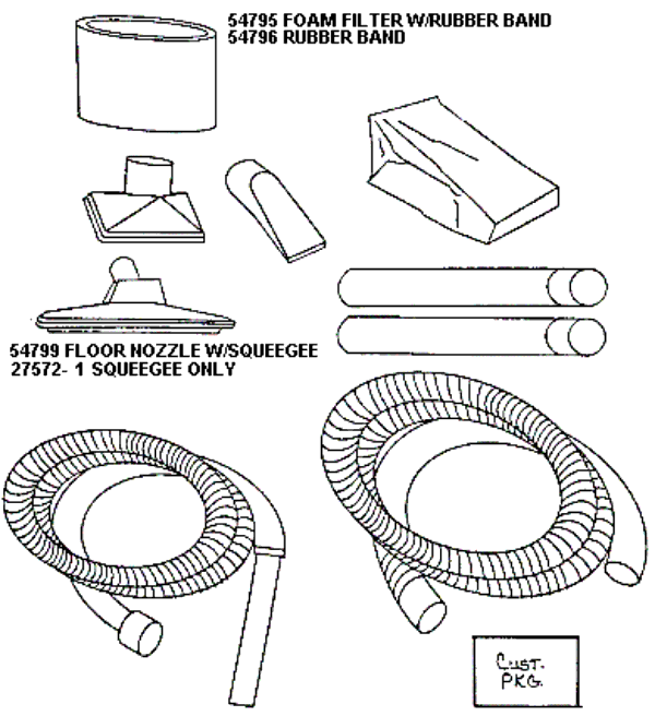 Wet Dry 2832a Wet Dry Vac Parts And Accessories