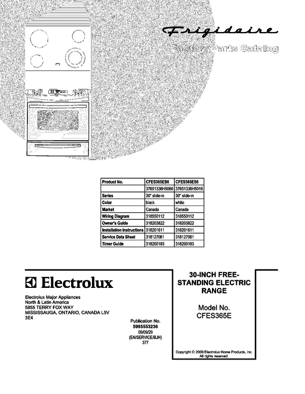 Fine Great Sample Detail Frigidaire Wiring Diagram Composition ...
