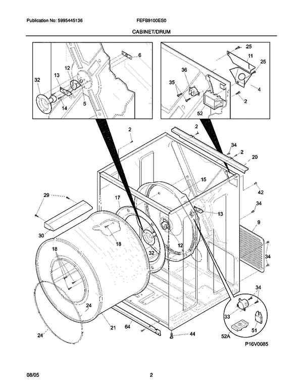 Wiring Diagram Thread Frigidaire Stack Dryer Motor Wiring Diagram