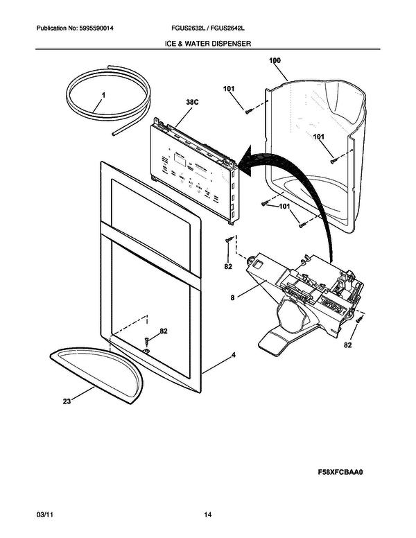 25 Wiring Diagram Parts For Electrolux Ew26ss65gs0 From