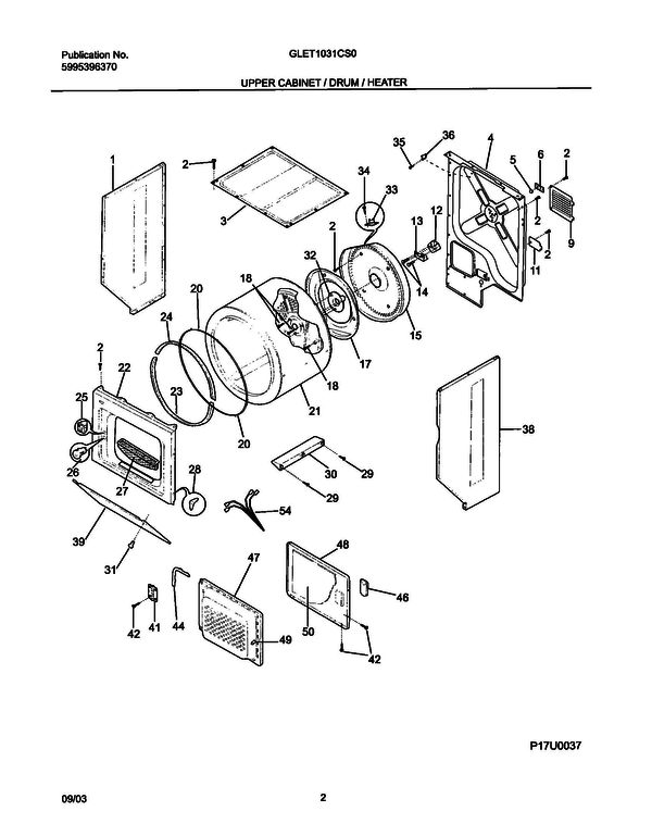 Frigidaire Stackable Washer Dryer Parts Diagram - Somurich.com on