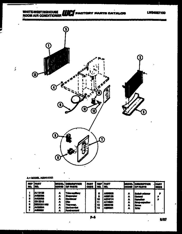 White Westinghouse Rs249jcv0 V2 Refrigerator Parts And Accessories