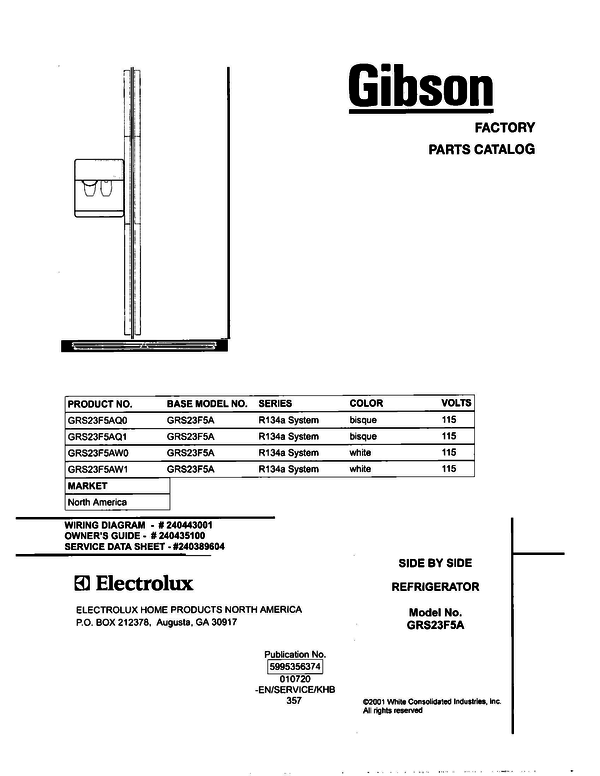 Gibson grs23f5aq0 side by side refrigerator parts and accessories at gibson grs23f5aq0 cheapraybanclubmaster Gallery