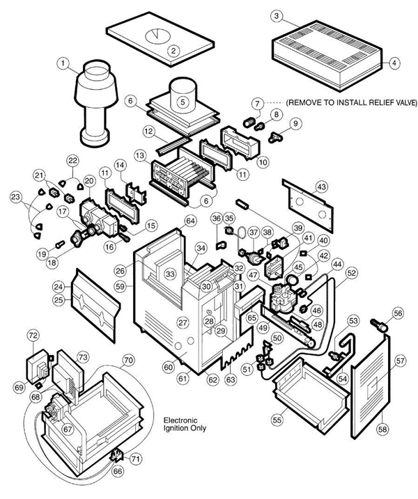 Hayward Psg Ii 110 355 Parts And Accessories Partswarehouse