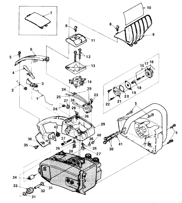 Homelite 240 Chainsaw Manual Enthusiast Wiring Diagrams