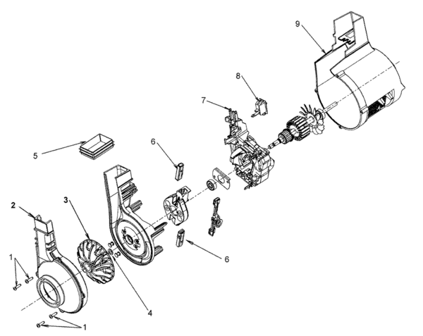 Hoover U5117 Parts And Accessories Partswarehouse