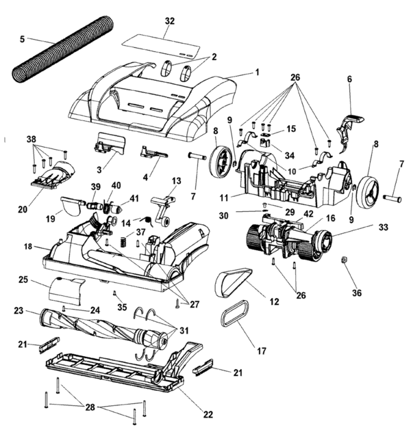 hoover u6618 parts and accessories