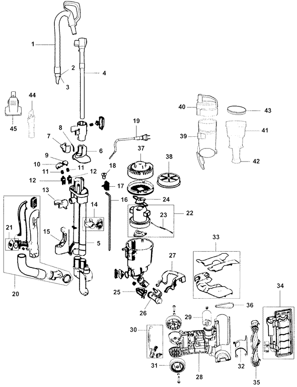 Hoover Vacuum Uh72400 Model Schematics Best Site Wiring
