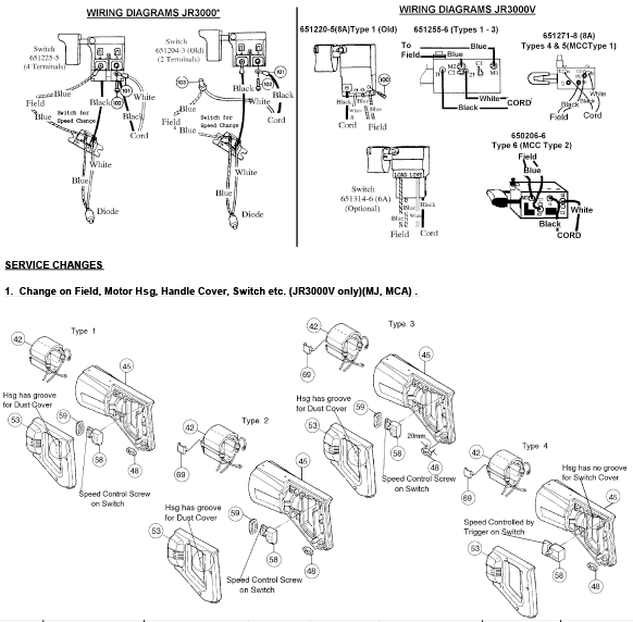 Makita Jr3000v Wiring Diagram - Wiring Diagram Database on