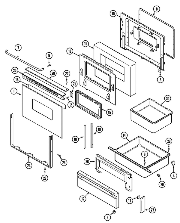maytag che9800bcb freestanding electric range parts and accessories Maytag AC Wiring Diagrams maytag che9800bcb