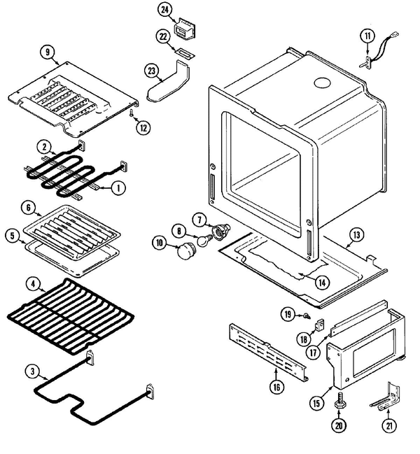 maytag cre9600ccm freestanding electric range parts and accessories Maytag Washer Wiring Diagram maytag cre9600ccm