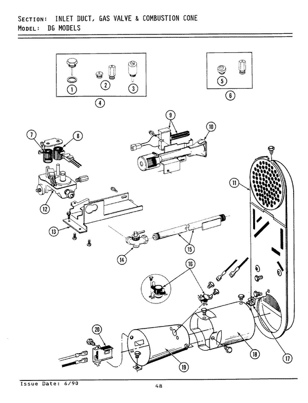 Maytag Dg5910 Dryer Parts And Accessories At Partswarehouse
