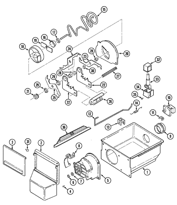 Maytag Gs22y9da Side By Side Refrigerator Parts And Accessories At